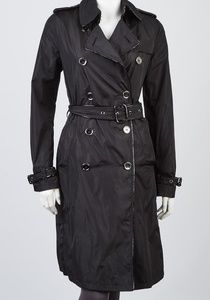 BURBERRYLondon Black Nylon Trench
